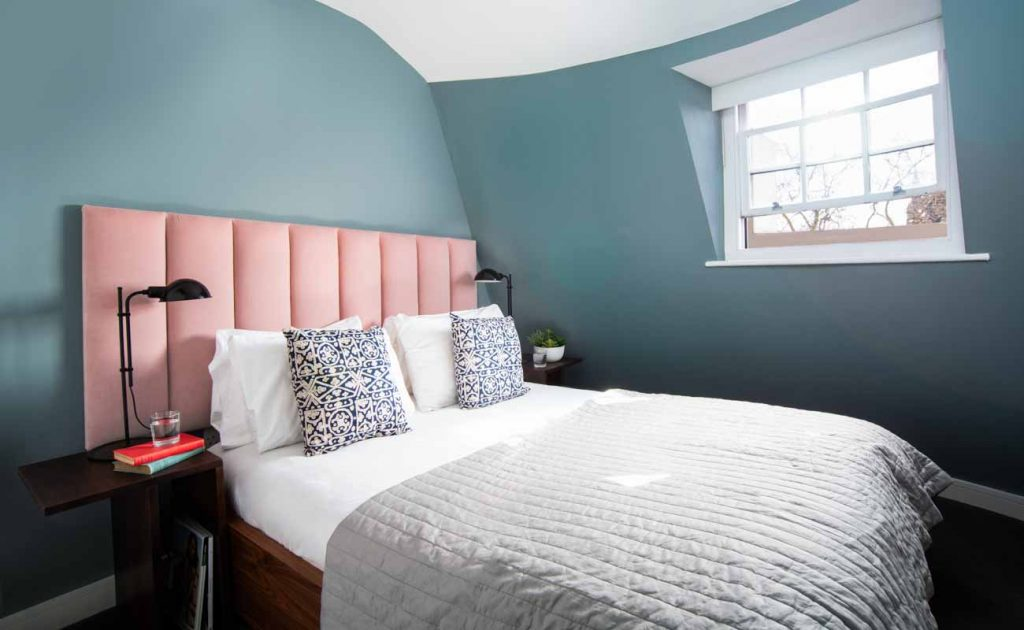 2 Bedroom Apartment Bedroom - Sussex Gardens - London Serviced Apartments